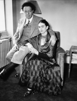 diego-rivera-with-wife-frida-kahlo